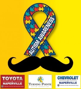 Mustach March for Autism